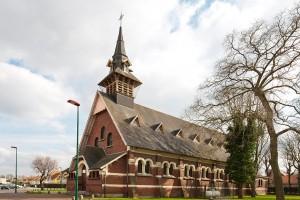 Eglise Saint-Théodore de la cité °9 à Lens. Société des mines de Lens