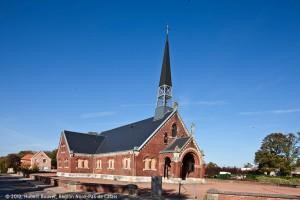 Eglise Saint-Louis de la cité n°5 à Grenay. Compagnie des mines de Béthune