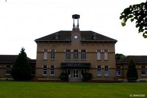 Clinique Sainte-Barbe (Marronniers) à Bully-les-Mines. Compagnie des mines de Béthune
