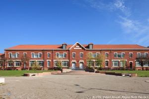 Ecole de la cité du Pinson à Raismes. Compagnie des mines d'Anzin