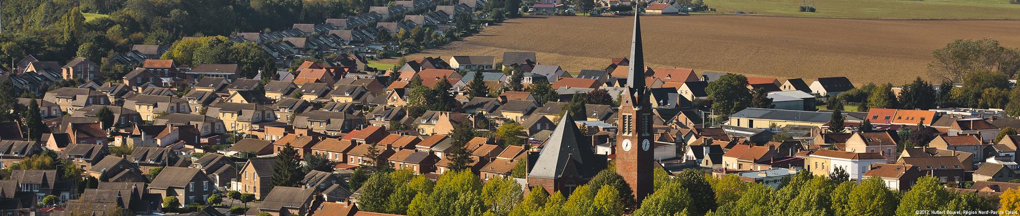 Eglise Saint-Louis, cité Nouméa , à Rouvroy ©2012, Hubert Bouvet, Région Nord-Pas de Calais