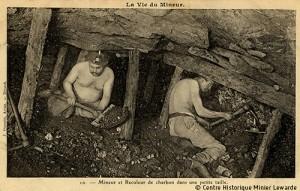 Mineurs dans le Pas-de-Calais vers 1900 © Centre Historique Minier de Lewarde