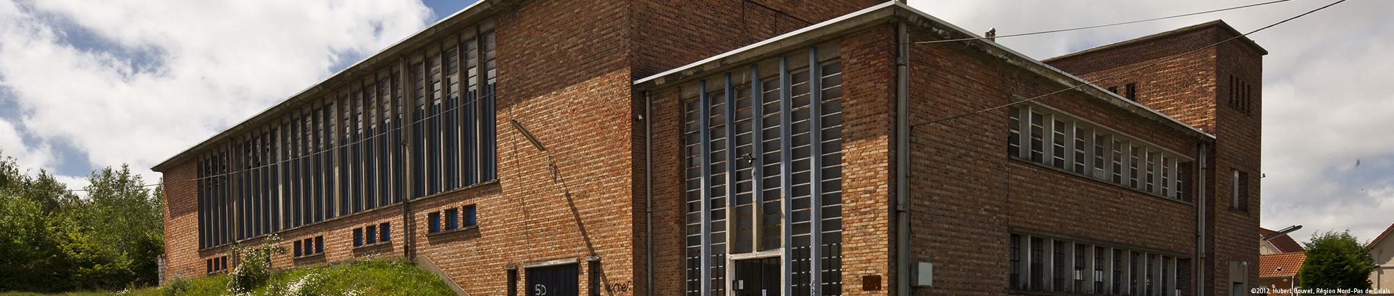 Fosse n°7 à Barlin ©2012, Hubert Bouvet, Région Nord-Pas de Calais