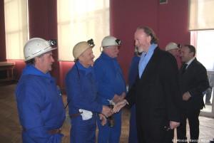 Venue du Prince d'Arenberg à Wallers Arenberg, réception officielle à la Mairie de Wallers 7 mars 2014 copyright Mission Bassin minier